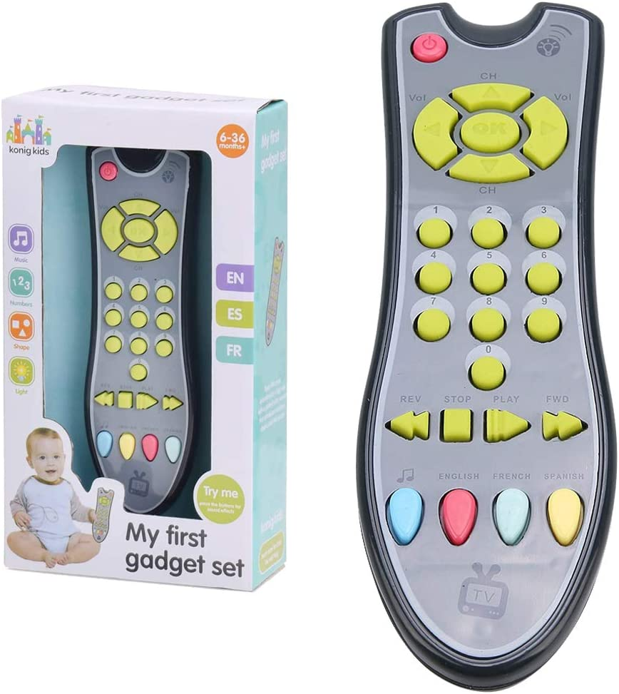 lelukee Music Toy Miami Mall Remote Control for with Baby and f Sound Light Ranking TOP5