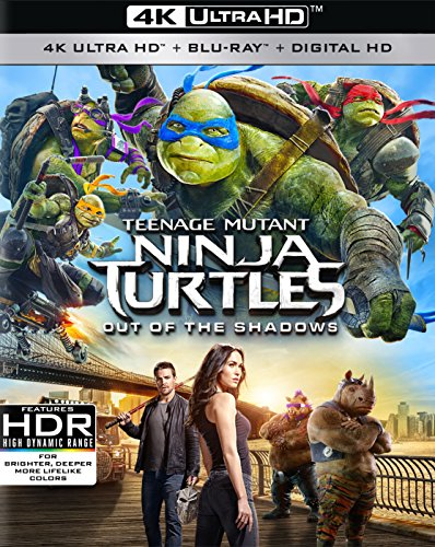 Teenage Mutant Ninja Turtles: Out of the Shadows (4K UHD + Blu-ray + Digital) $9.96 @ Amazon