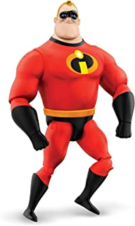 Mattel Pixar Interactables Mr. Incredible Talking Action Figure, 8-in Tall Highly Posable Movie Character Toy, Interacts with Other Figures, Kids Gift Ages 3 Years & Older