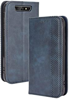 Case for Blackview BV5500 Plus,Leather Stand Wallet Flip Case Cover for Blackview BV5500 Plus,Retro magnetic Phone shell,W...