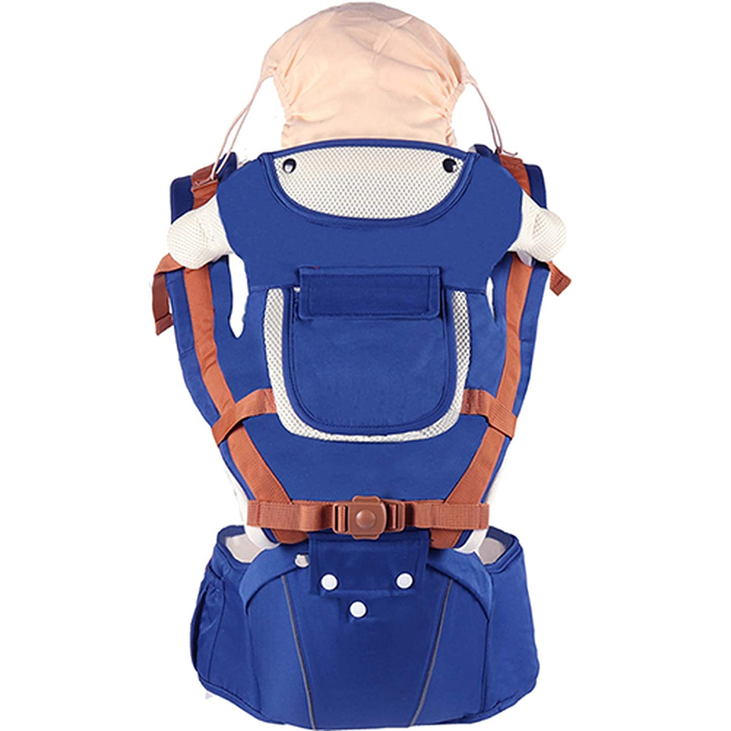 Breathable Front Facing Baby Carrier Infant Comfortable Sling Backpack Pouch Wrap Baby Kangaroo New,Dark Blue,OneSize rnqefsptvbe0