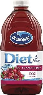 Ocean Spray Diet Cran-Cherry Cranberry Cherry Juice Drink, 64 Ounce Bottles (Pack of 8)