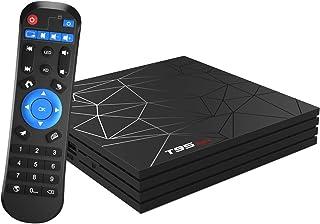 comprar comparacion Android TV Box,T95 MAX Android 9.0 TV Box 4GB RAM/32GB ROM H6 Quad-Core Soporte 2.4Ghz WiFi 6K HDMI DLNA 3D Smart TV Box