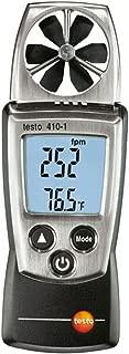 SSEYL Testo 410-1 Digital Vane Anemometer Air Speed Velocity/Temperature Meter Tester