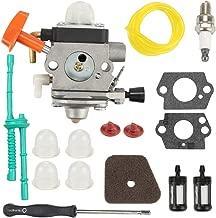 Hayskill C1Q-S174 Carburetor for STIHL FS87 FS90 FS100 FS110 HT100 HT101 HL100 HL90 KM90 KM100 Trimmer Replace Carb 4180 120 0604 4180-120-0610 with Air Fuel Filter Tune Up Kit
