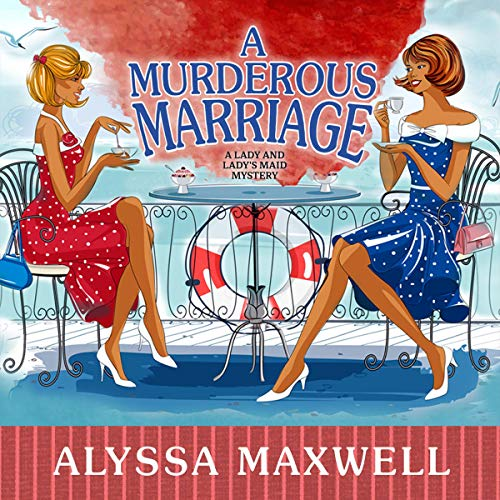 A Murderous Marriage audiobook cover art