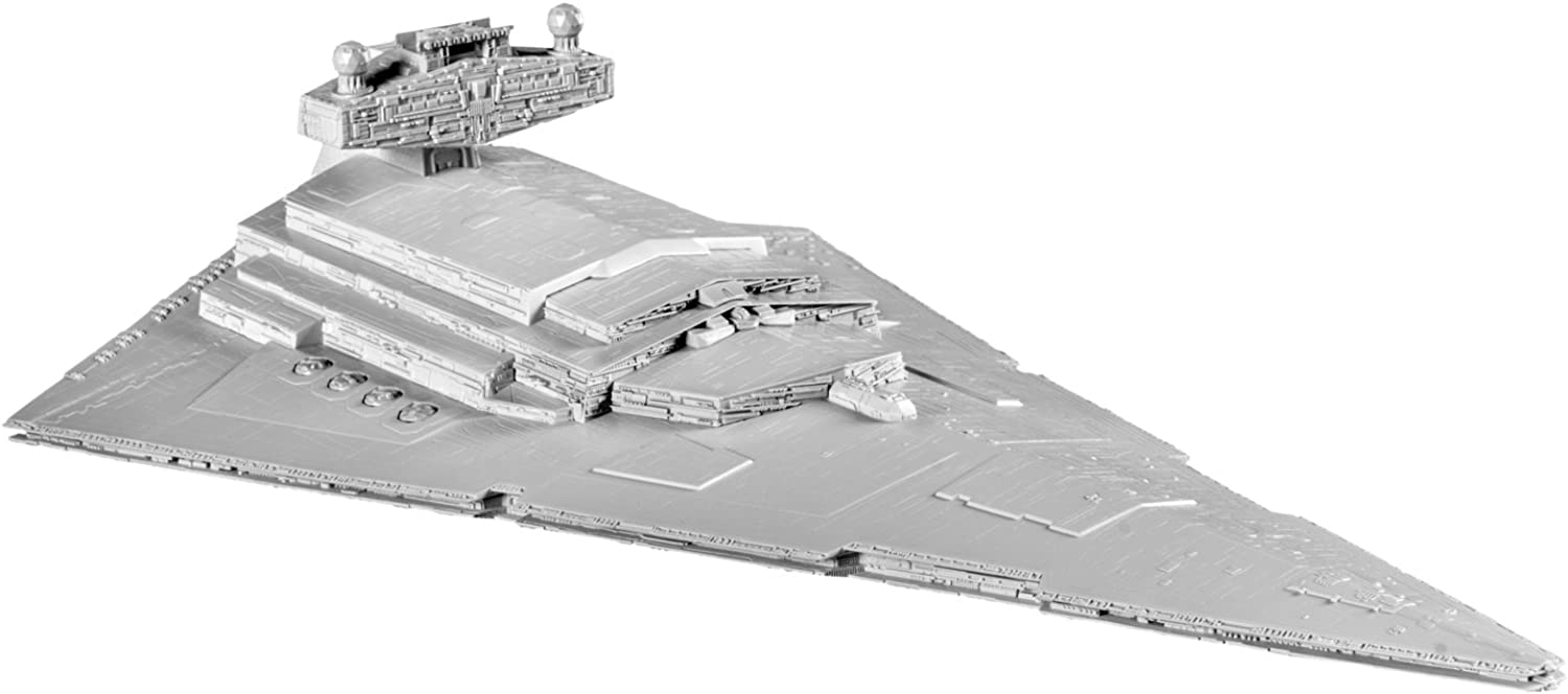 Revell Star Wars SnapTite Build and Play Imperial Star Destroyer Model Building Kit (16 x9 x4 )