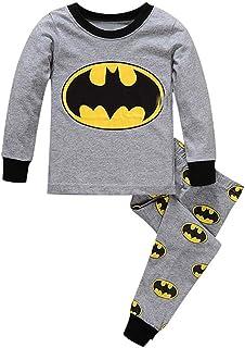 59658c42 Boys Pajamas Sets Children Christmas Pants 100% Cotton Spider-Man Long Kids  Snug Fit