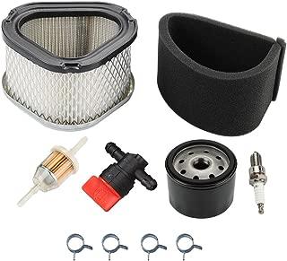 Panari GY20574 Air Filter + Oil Filter Tune Up Kit for John Deere AM121608 AM123553 STX30 STX38 LX173 LT133 LT155 LTR155 Scotts S1642 SST15 Lawn Mower Tractor