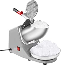VIVOHOME Electric Ice Shaver Snow Cone Maker Machine Silver 143lbs/hr for Home and Commercial Use