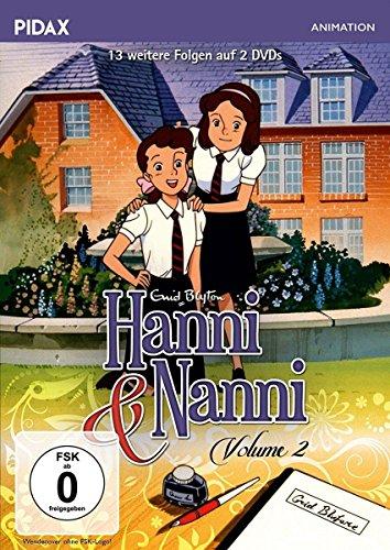 Hanni und Nanni - Vol. 2 / Weitere 13 Folgen der erfolgreichen Serie nach den Bestsellern von Enid Blyton (Pidax Animation) [2 DVDs]