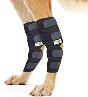 Rear Dog Leg Brace One Pair Heals Hock Joint Wrap Sleeve for Hind Legs
