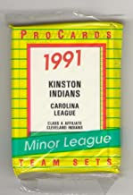 1991 ProCards Minor League Team Set - Kinston INDIANS