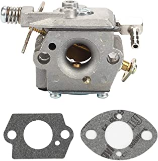 Mannial 640347 640347A Carburetor Carb with Gasket fit Tecumseh TM049XA TC200 TC300 Ice Auger 2-Cycle Engine Replace Oregon 50-660 MFG #5312 Strike Master Jiffy Ice Auger 50667