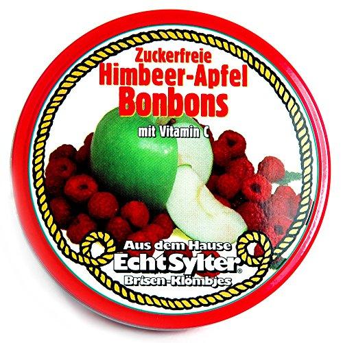 Echte Sylter Brisen Kl�mbjes Himbeer-Apfel Bonbons zuckerfre