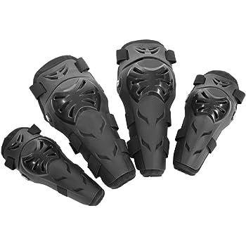 Dibiao Ginocchiere moto un paio Protezioni parastinchi traspiranti Protector Armor Kneelet Brace per moto da corsa in bicicletta