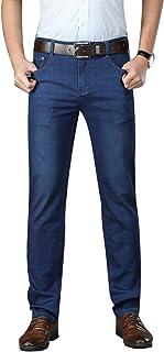 Regular Fit Jeans for Men High Stretch Men's Jeans Spring Summer Jeans for Men