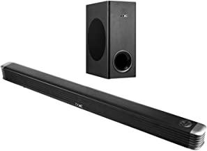 boAt AAVANTE Bar 1800 120W 2.1 Channel Bluetooth Soundbar with Boat Signature Sound, Wireless Subwoofer, Multiple Connecti...