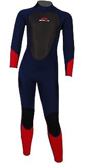 SOLA Junior Storm 3/2mm Fullsuit Wetsuit 2021 - Red Ranger