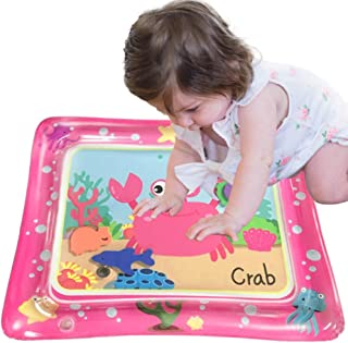 2020 Baby Water pad Baby pat pad Pink Crab Water pad Newborn PVC Inflatable Game pad to Stimulate Baby Growth and Motor Sk...
