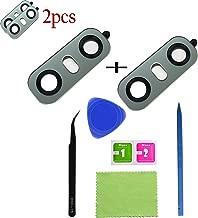 Eaglestar 2pcs True Glass Rear Camera Cover Lens Replacement for LG G6 H870 H871 H872 H873 LS993 VS998 US997 H870DS+1 Set Repair Tool