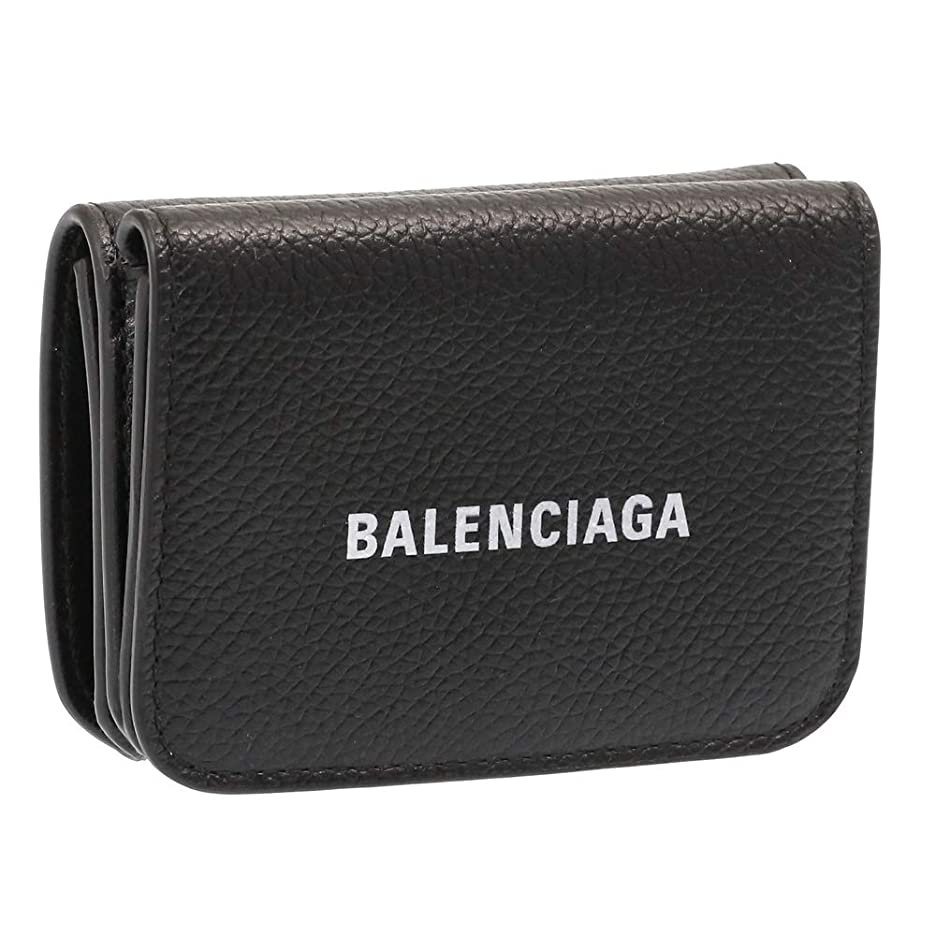 非武装化不安構造[バレンシアガ] BALENCIAGA 3つ折り財布 ミニ財布 CASH MINI WALLET キャッシュミニ 593813 1IZIM 1090 [並行輸入品]