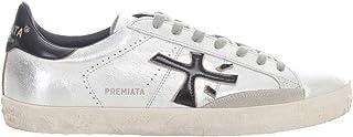 PREMIATA Luxury Fashion Mens STEVEN4713 Silver Sneakers   Spring Summer 20