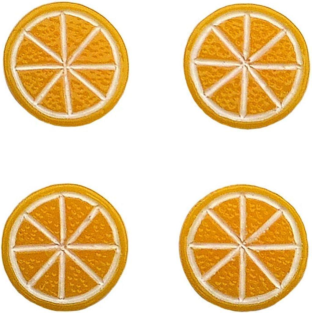 Quality Handcrafts Guaranteed Orange Tuxedo Studs