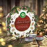Air Wick - Calendario dell'Avvento fiabesco a tema invernale, 24 mini candele profumate
