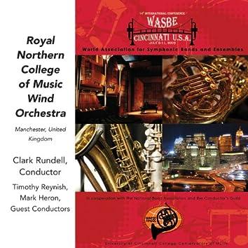 2009 WASBE Cincinnati, USA: Royal Northern College of Music