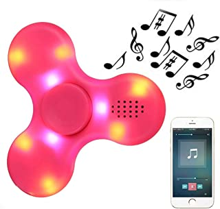 pink fidget spinner light up