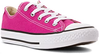 CONVERSE Kids Chuck Taylor All Star Seasonal Ox Fashion Sneaker Shoe, Plastic Pink, 3