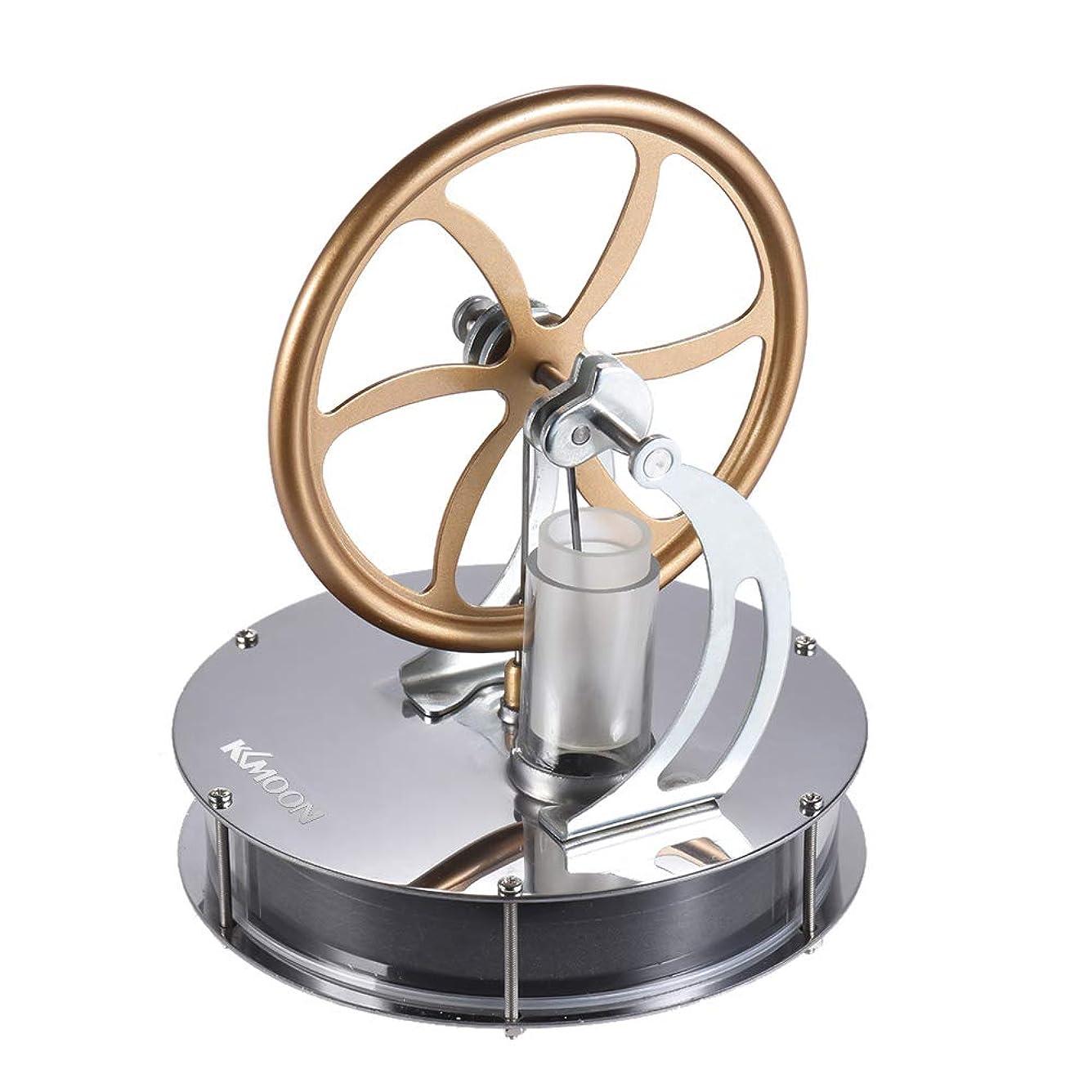 祝福下コンサルタントROEAM 低温スターリングエンジンモーターモデル熱蒸気教育玩具DIYキット 実験科学 物理実験 自由研究