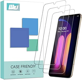 [3-Pack] WRJ Screen Protector for LG V60 ThinQ/G9 ThinQ (Not for The LG Dual Screen),HD Anti-Scratch Anti-Fingerprint No-B...