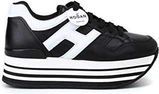 Luxury Fashion Womens HXW2830T548HQK0002 Black Sneakers | Season Permanent