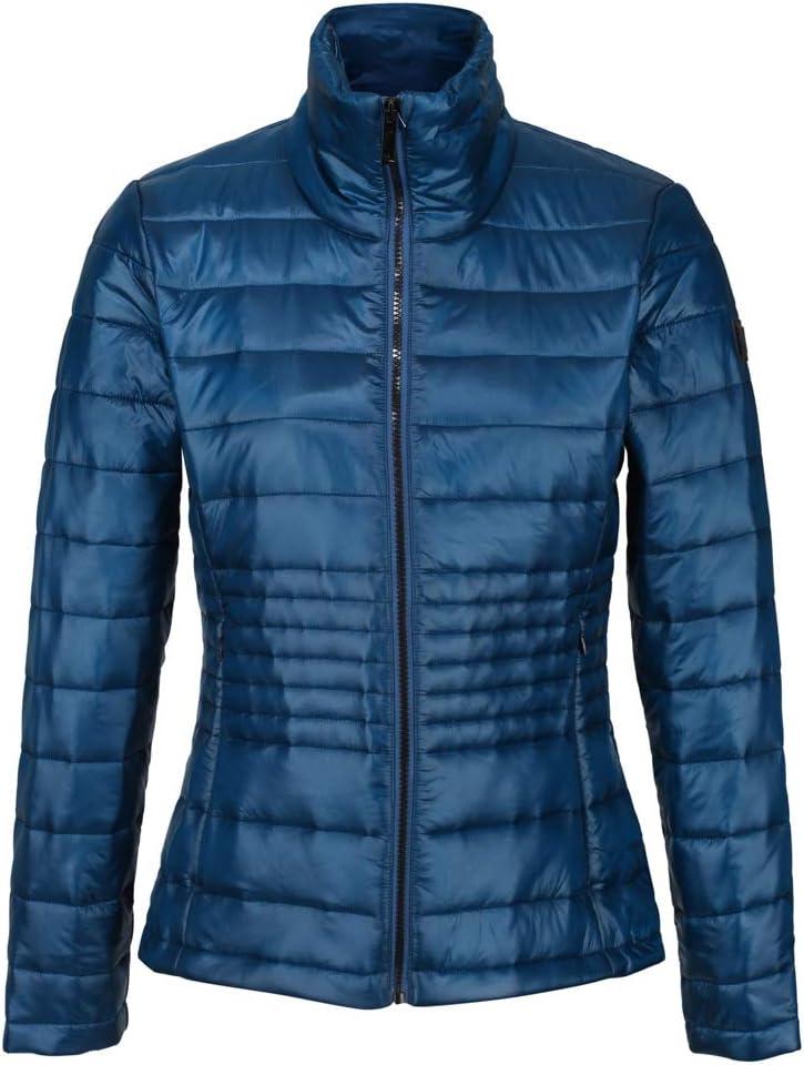 Tejido Ligero con Aislamiento Y Bolsillos con Cremallera Baffled//Quilted Jackets Regatta Lustel Chaqueta Acolchada Mujer