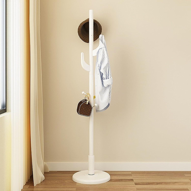Coat Rack Hangers Floor Solid Wood Bedroom Hanger Simple Modern Clothes Hanger Creative Clothes Rack (color   C)