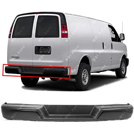 Crash Parts Plus Textured Front Bumper Cover Replacement for 2003-2015 Chevy Express GMC Savana