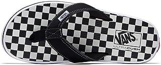 b7448794cad0 Vans LA Costa Lite Thong Sandals Checkerboard Black Men s Flip Flops Size 12