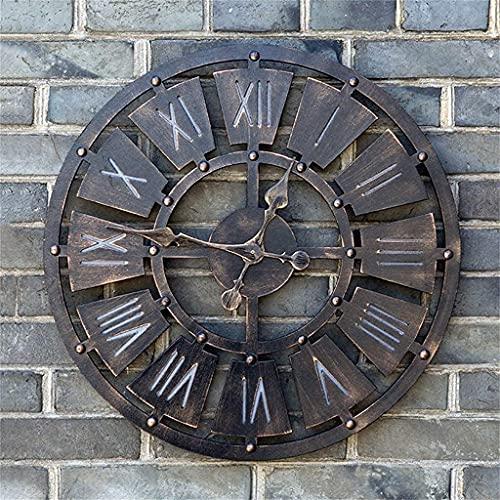 Reloj depared, Estilo Europeo Creativepersonality Hollow Roman Construction Display Reloj depared Decorativo de Moda