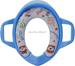 Baby Kids Infant Potty Toilet Training Children Seat Pedestal Cushion Pad Ring Baby Toilet Seats baby toilet seat (Color :...