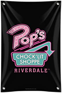 GRAPHICS & MORE Riverdale Pops Chock'lit Shoppe Home Business Office Sign - Vinyl Banner - 22