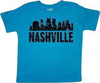 Nashville Skyline Grunge Toddler T-Shirt
