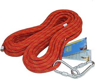 MEI XU Climbing Rope Outdoor 12mm Static Rope Climbing Rope Climbing Rope Rappelling Rope Safety Rope High Altitude Fall P...