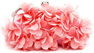 Kingluck Flower Design Satin and Silk Women Wedding Brial Clutch Bag/evening Handbags(more Colors)