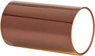 3M 7419 Amber Low-Static Non-Silicone Polyimide/Acrylic Adhesive Film Tape, 1