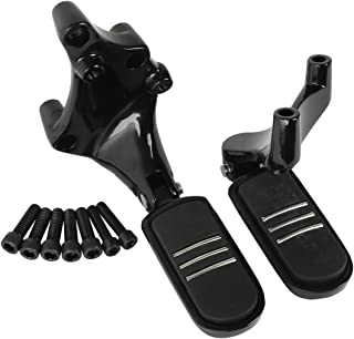 XMT-MOTO Rear Streamliner Styled Foot peg Mount For Harley Sportster XL 1200 883 Iron883