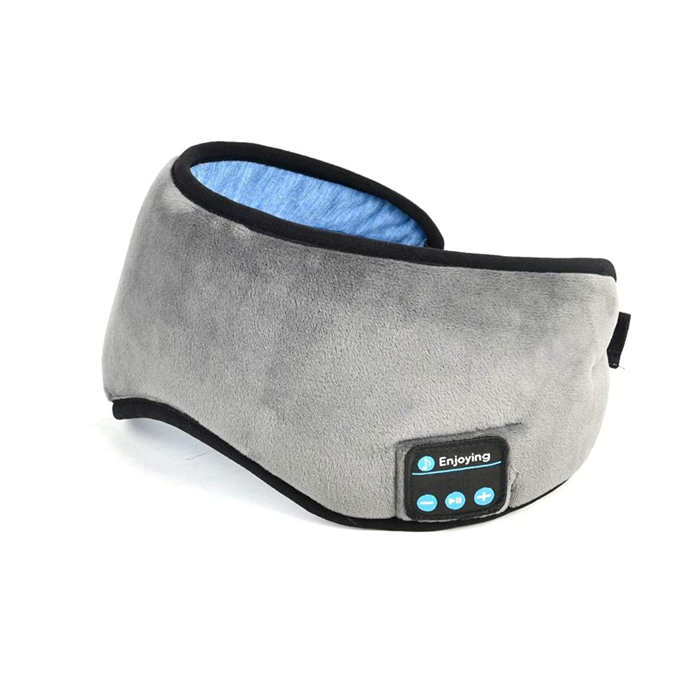 小さいマニアック階層ノート2019ワイヤレスステレオBluetoothイヤホンスリープマスク電話ヘッドバンドスリープソフトイヤホン睡眠アイマスクミュージックヘッドセット