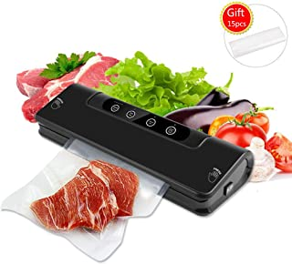 Vacuum Sealer Mini Machine Wet and Dry Adjustable Sealing Time with External Pumping Function for Household