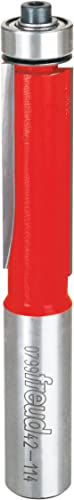 """2021 Freud 1/2"""" (Dia.) Bearing Flush discount Trim Bit with 1/2"""" Shank new arrival (42-114) sale"""